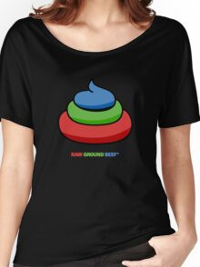 raw ground beef Women's Relaxed Fit T-Shirt