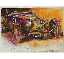 Classic Bentley Photographic Print