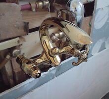 2010 Luxury Clawfoot Bathtub Faucet Handheld Shower  by ninhinc