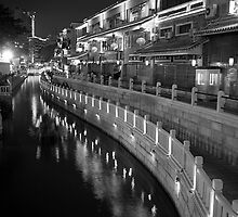 River at Night by Photo-Bob