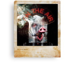 The Oink Master Canvas Print