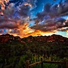 As The Sun Sets in Sedona  by Saija  Lehtonen
