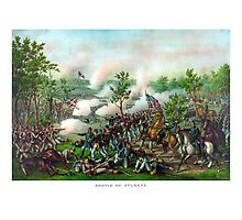 Battle Of Atlanta -- Civil War Photographic Print