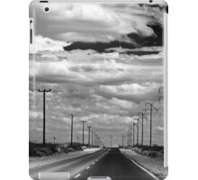 Power Lines to the End of the Road iPad Case/Skin