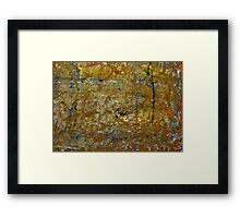 Decaying Thoughts Framed Print