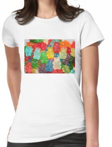 Gummy Bear Candy Womens Fitted T-Shirt