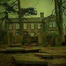 The Bronte Parsonage, Haworth by Sandra Cockayne
