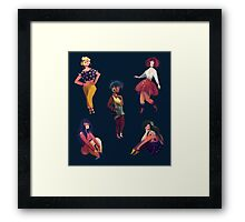 Cool Girls Framed Print