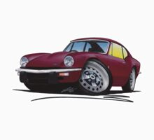Triumph GT6 Damson by Richard Yeomans