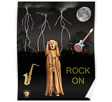 The Scream World Tour  Scream Rocks Rock on Poster