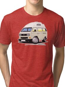 VW T25 / T3 [SQ] (High Top) White Tri-blend T-Shirt