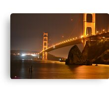 The Mighty Golden Gate Canvas Print