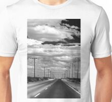 Power Lines to the End of the Road Unisex T-Shirt