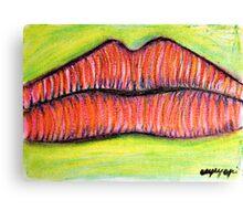 The taste Canvas Print
