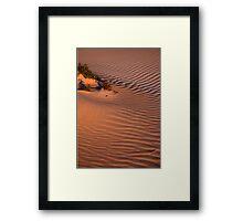 Dune Life Framed Print