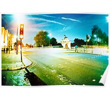 Tourist - London - Out of hide park, by dawn Poster