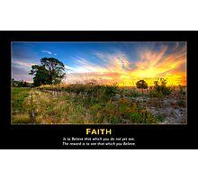 Faith #1 Photographic Print