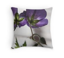 Blue II Throw Pillow