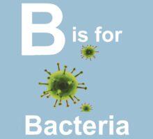 B is for Bacteria (dark shirts) Kids Tee