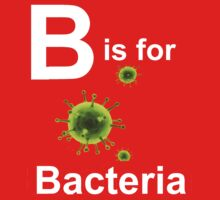 B is for Bacteria (dark shirts) One Piece - Long Sleeve