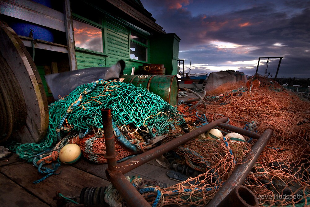 Nets, nets and more nets by Dave Hudspeth