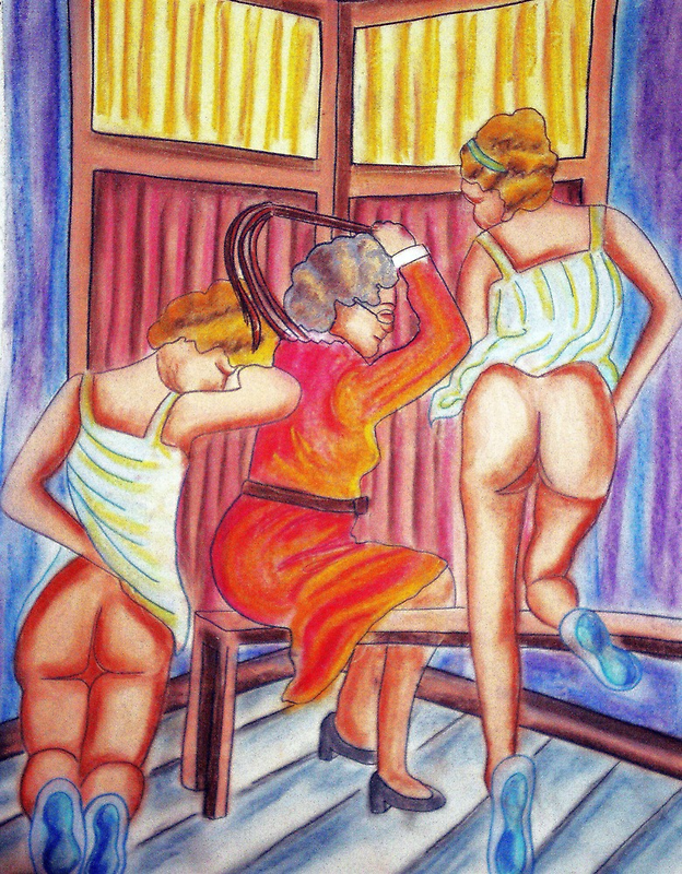 BALLET REPRIMAND by Tammera