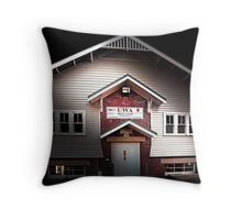 UWA Boatshed - Western Australia  Throw Pillow