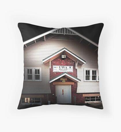 UWA Boatshed - Western Australia  Throw Pillow