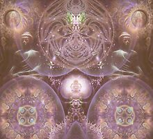 Contemplation of Formlessness by Craig Hitchens - Spiritual Digital Art
