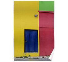 Aruba Painted Wall Poster