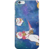 Bee and Puppycat: Ice Cream Sundae Galaxy iPhone Case/Skin