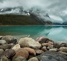 Lake Louise, Banff National Park, Alberta, Canada by Margaret Metcalfe