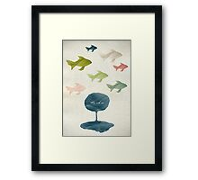 Fly with me Framed Print