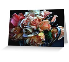"""A Bouquet for You ...."" Greeting Card"