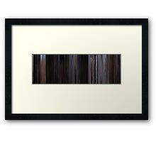 Moviebarcode: The War of the Worlds (1953) Framed Print