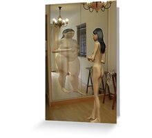 Anorexia Greeting Card