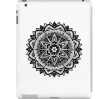 """Paradise Could Paralyse"" Sacred Geometry Mandala iPad Case/Skin"
