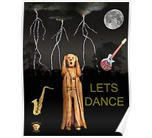 The Scream World Tour  Scream Rocks Lets Dance Poster