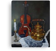 The Fiddle Canvas Print