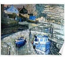 Staithes Beck Poster