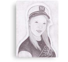 Sailor Gurl Canvas Print
