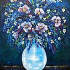 Spring Bouquet - oil painting by Avril Brand
