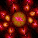 Apophysis7 - Crimson Bloom by judygal