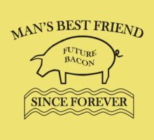 Future Bacon - black design Baby Tee