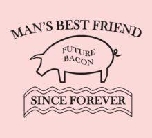 Future Bacon - black design Kids Clothes