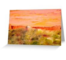 """Utah Desert"" Greeting Card"