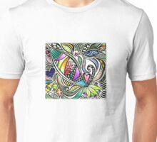 Zentangle Flowering Unisex T-Shirt