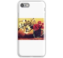 Impressionist Oil Pastel Painting. iPhone Case/Skin