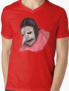 Number Three Mens V-Neck T-Shirt