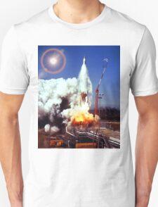 Atlas Smoky ICBM Launch Unisex T-Shirt